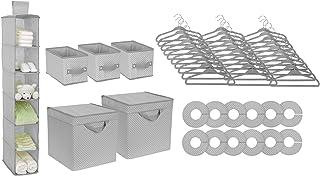 Delta Kids Nursery Set de 48 Piezas de Almacenamiento – fácil Almacenamiento / solución de organización – Mantiene el recá...