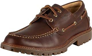 Sperry Top-Sider pour des Hommes Chaussures Bateau en Cuir à 3 œillets dorés A / 0 Lug, Marron