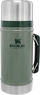 Stanley Vacuum Insulated Large Food Jar, 18/8 Stainless Steel Food Jar for Cold and Hot Food,...