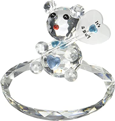 GiftTree New Baby Crystal Bear