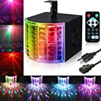 SOLMORE DMX512 Sound Actived Stage Disco Lights with Remote Control