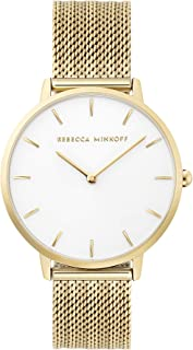 Women's Major Quartz Watch with Stainless Steel Strap, Gold, 16 (Model: 2200346)