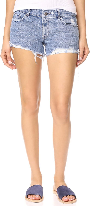 Dl1961 Womens Renee Cutoff Casual Denim Shorts