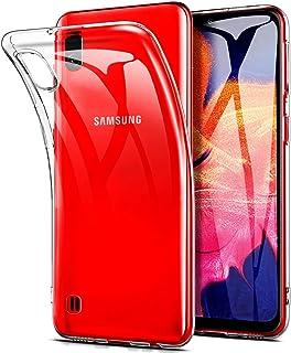 Karomenic kompatibel mit Samsung Galaxy A10 Silikon H/ülle 2 in 1 Gl/änzend Bling Strass Schutzh/ülle M/änner M/ädchen Ultra Slim Weiche TPU Handyh/ülle Plastik Hard PC Tasche Bumper Case,Silber