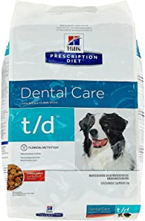 Hill's Pet Nutrition T/D Dental Care Chicken Flavor Dry Dog Food, 25 lb Bag