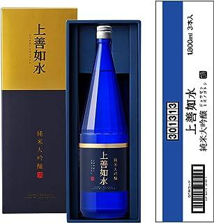 白瀧酒造 上善如水 純米大吟醸 1800ml×3本