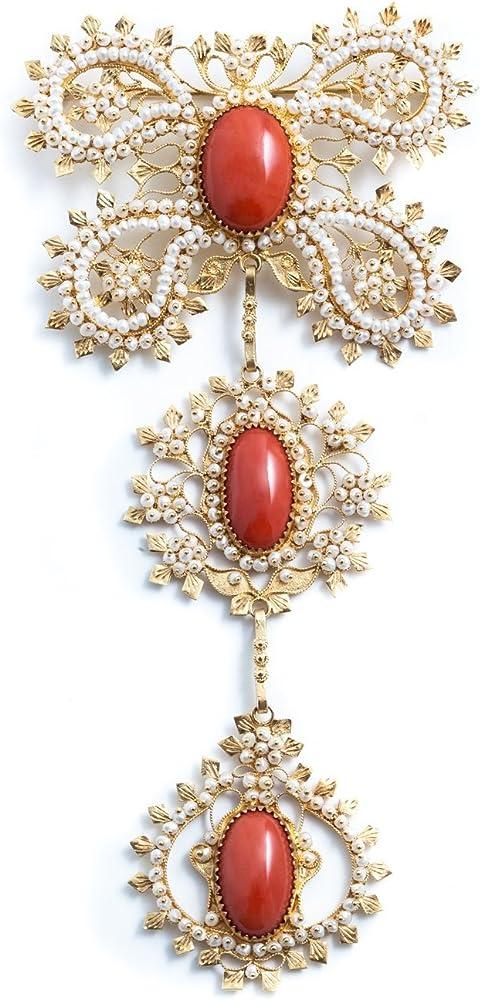 Marrocu gioielli - pendente tradizionale su lasu SLI306403