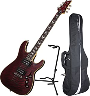 Schecter OMEN EXTREME-6 BCH Electric Guitar w/ Gig Bag and Stand
