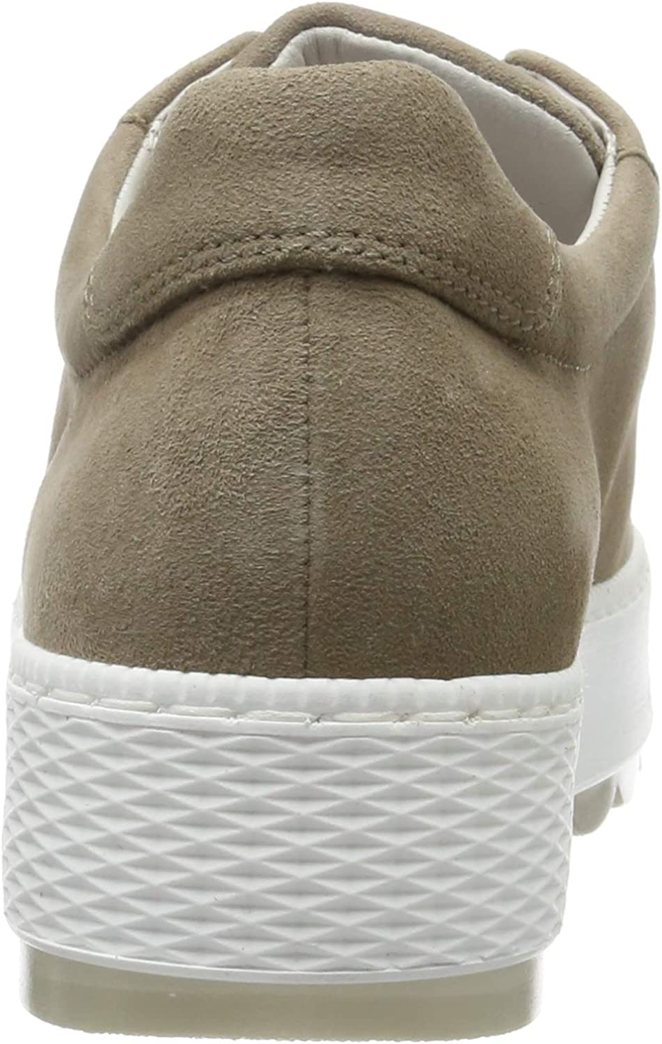 Gabor Shoes Comfort Basic, Sneakers Basses Femme Beige Sahara 41