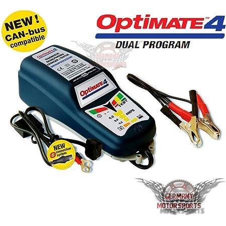 Tecmate Optimate Dc To Dc Ladegerät Tm500 12v Ladegerät Für 12v Batterien Gleichstromversorgung Auto