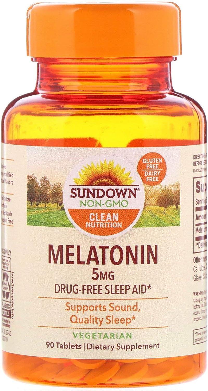 cheap Sundown Melatonin 5 Japan's largest assortment mg 90 ea Tablets
