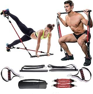 Verstelbare weerstandsband voor dames en heren, kniebuigingen en zitspieren, draagbaar, voor thuis, gymnastiek, yoga, pila...