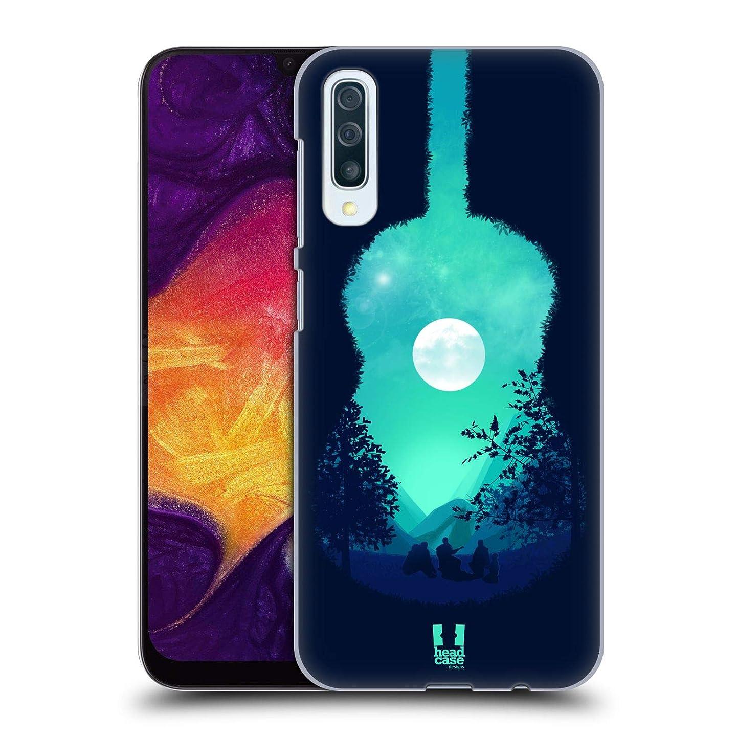 Head Case Designs Guitar Summer Memories Hard Back Case Compatible for Samsung Galaxy A50 (2019)