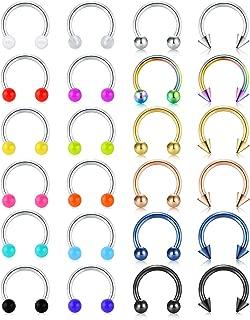 Best septum rings horseshoe Reviews
