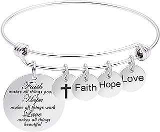 Best christian bangle bracelets Reviews