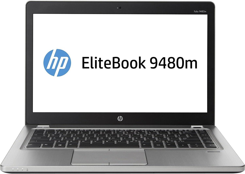 "Amazon.com: HP EliteBook Folio 9480m 14"" LED Ultrabook - Intel Core i7  i7-4600U Dual-core (2 Core) 2.10 GHz - Platinum J5P80UT#ABA : Electronics"