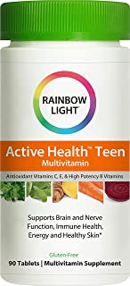 Rainbow Light Active Health Teen Multivitamin - 90 Count (Package May Vary)