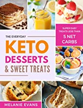Keto Desserts: Less Than 5 g Net Carbs Sweets and Treats (The Keto Dream Book 2)