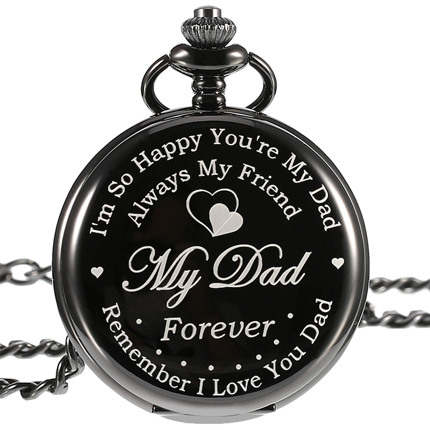 Pocket Watch Engraved Gifts with Gift Box Christmas Birthday Fathers Day Gift  sc 1 st  Amazon.com & Fathers Birthday Gift: Amazon.com