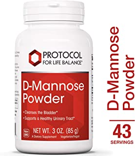 Protocol For Life Balance - D-Mannose Powder - Supports a Healthy Urinary, Gastrointestinal (GI) Tract & Digestive System, Helps Cleans & Detoxify Your Body - 3 oz. (85 g)