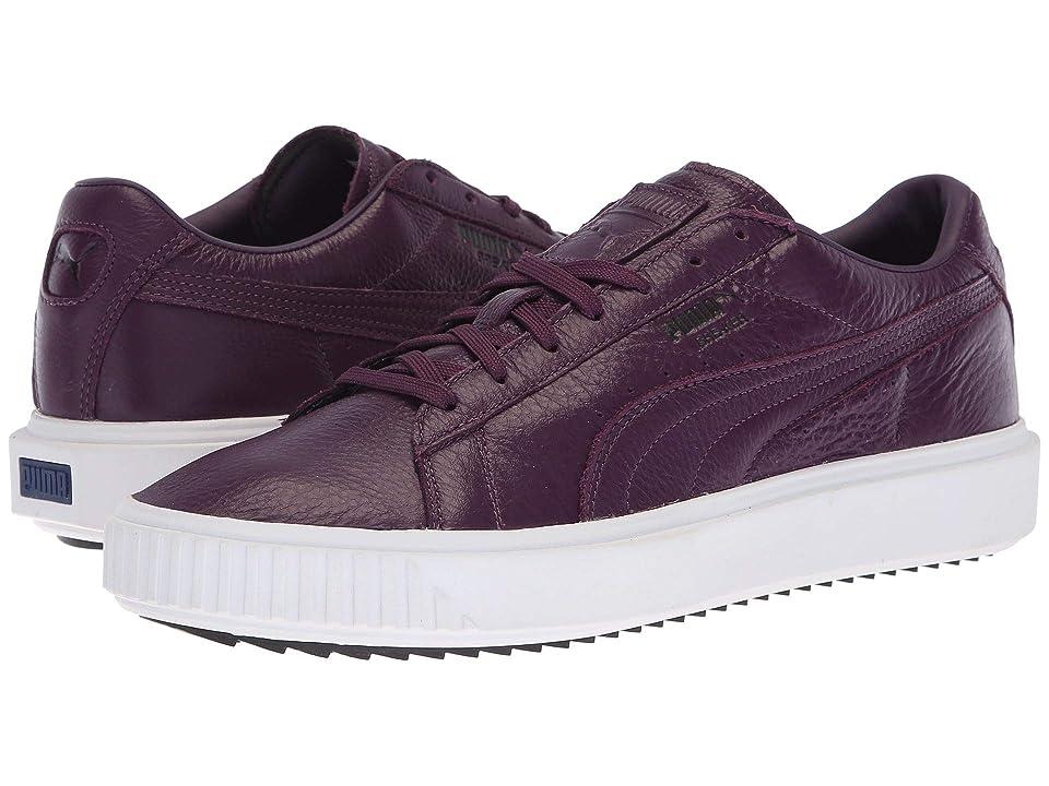 PUMA Breaker Leather (Shadow Purple/Puma White/Puma Black) Men