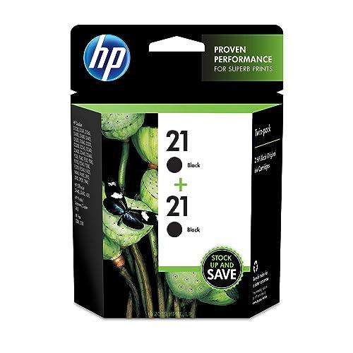 HP 21   2 Ink Cartridges   Black   C9351AN