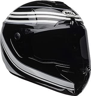 Bell SRT Street Motorcycle Helmet (Vestige Gloss White/Black, X-Large)