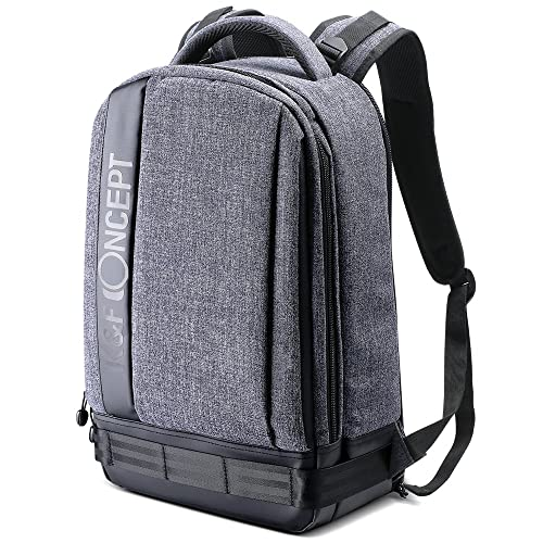 8bef0a0cdbc5 K F Concept Lightweight DSLR Camera Backpack Water Resistant Nylon  Multipurpose Bag for Canon Nikon Fuji and