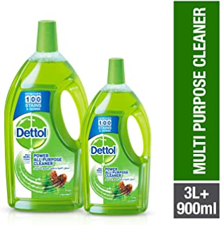 Dettol Pine Healthy Home All- Purpose Cleaner 3LT + 900ml
