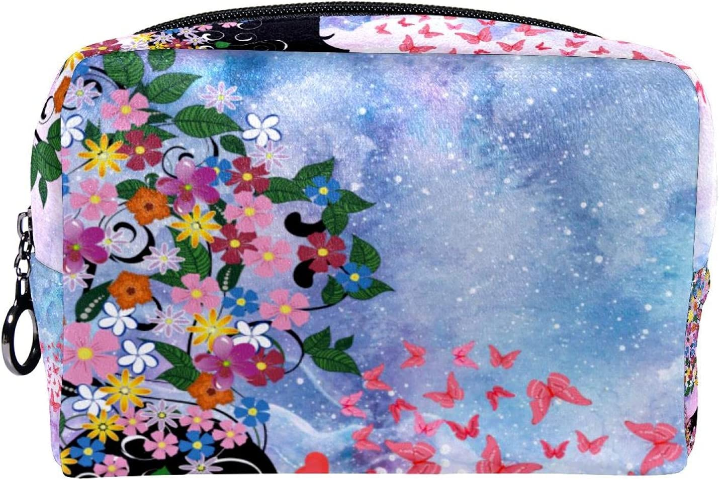Las Vegas Mall Compact Cosmetic Bag Makeup Phoenix Mall Coin Butterf purse Dream Marble