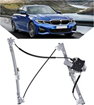 TURBOSII 740-484 Front Driver Side Replacement Power Window Regulator with Motor for 2001-2005 BMW 320i 325i 330i 4 Door Sedan/325i Wagon,2000 BMW 323i Wagon,1999-2000 BMW 323i 328i 4 Door Sedan
