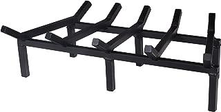 SteelFreak Super Heavy Duty Steel Fireplace Grate - Made in The USA (24-Inch)