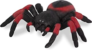 Terra by Battat AN2805Z - RC Spider: Tarantula - Red Infrared Remote Control Spider with Creepy Led Eyes for Kids Aged 6+, Multi