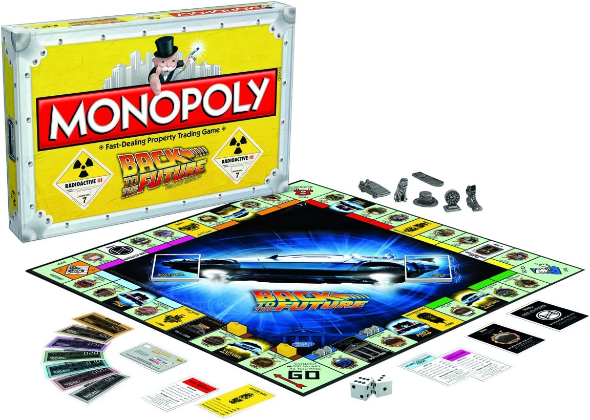 Winning Moves Monopoly, englische Ausgabe Back To The Future