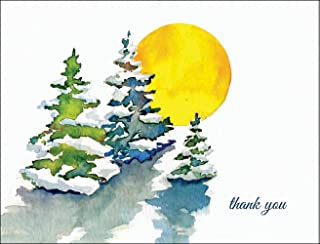 Best winter wonderland thank you cards Reviews