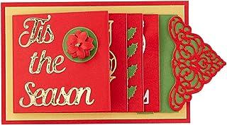 Spellbinders Card Etched Dies-Christmas from by Base de Carte Matrice de découpe – Collection Cascade de Noël de Amazing P...
