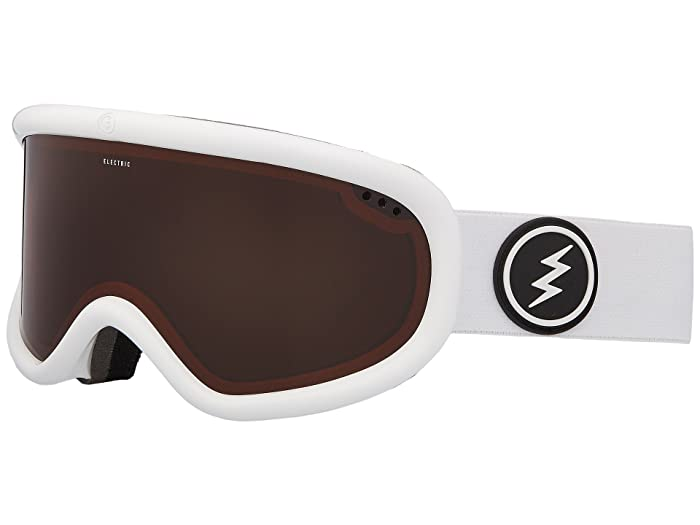 Charger  Shoes (Gloss White Frame/Brose Lens) Goggles