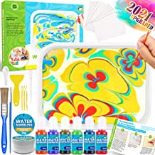 Catcrafter Spin Art Kit For Kids - Arts And Crafts Supplies Tween Marbling Painting Set Ideal Easter Gifts Kid Activities ...