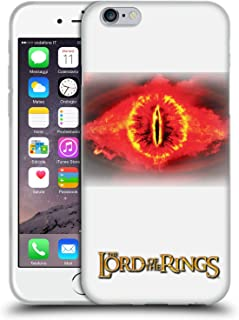 Official The Lord of The Rings: The Two Towers Eye of Sauron Character Art Soft Gel Case Compatible for iPhone 6 / iPhone 6s