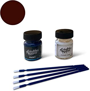 ScratchesHappen Exact-Match Touch Up Paint Kit Compatible with Kia Sangria Red (M2R) - Essential