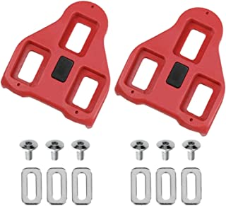 Sponsored Ad - Boerte Compatible with Peloton Look Delta (9 Degree Float) Bike Replacement Cleats - Indoor Cycling & Road Bike Cleat Set - Fully Compatible with Peloton & Spin Delta Clips - New Anti-Slip Design