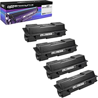 Speedy Inks Compatible Toner Cartridge Replacement for Kyocera-Mita TK-172 (Black, 4-Pack)