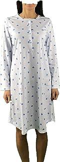 Linclalor Camicia da Notte Donna Serafino Mezza Manica Raglan 73507