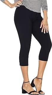 Stretch Cotton Jersey Women's Capri Leggings