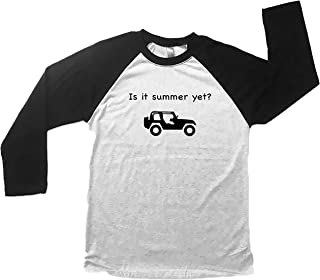 Jeep Is it Summer Yet, Funny Jeep Shirt, Jeep Winter Shirt, Cute Jeep Shirts, Womens Apparel, Jeep Gift Ideas, Jeep Gifts for Women, Long Sleeve Jeep Shirts, Jeep Tees for Her