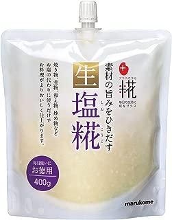 マルコメ プラス糀 生塩糀 お徳用 400g×5個