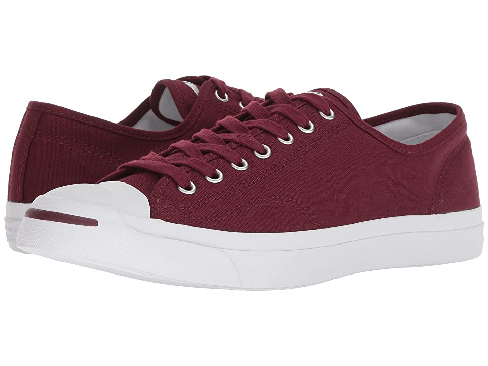 Converse Jack Purcell Campus Colors Ox (Dark Burgundy/White) Shoes
