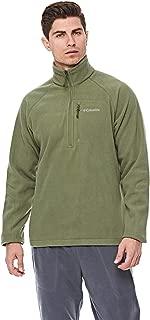 Columbia Fast TrekTM IIi Half Zip Fleece For Men, Size XXL (Green)