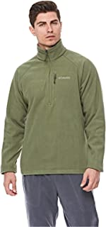 Columbia Fast TrekTM IIi Half Zip Fleece For Men, Size M (Green)