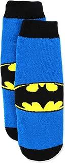 Batman Boys Slipper Socks (Toddler/Little Kid/Big Kid)
